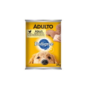 Comida Perro  Carne Mol D/Pollo  Pedigree  375.0 - Gr