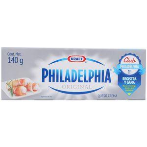 Queso Crema  Philadelphia  Kraft  140.0 - Gr