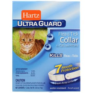 Collar Antipulgas  2  En 1 Para Gatos  Hartz  1.0 - Pza