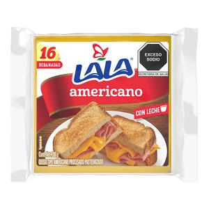 Queso  Americano  Lala  288.0 - Gr