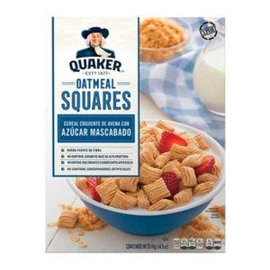 Cereal   Squares Regular  Quaker  411.0 - Gr