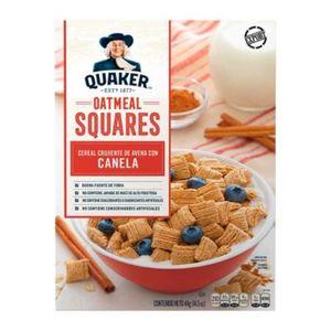 Cereal   Squares Cinnamon  Quaker  411.0 - Gr