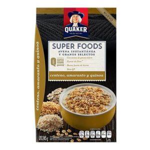 Avena Super Foods  Centeno, Amaranto Y Quinoa  Quaker  245.0