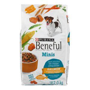Comida Perro   Adulto Minis Salmon  Beneful  2.0 - Kg