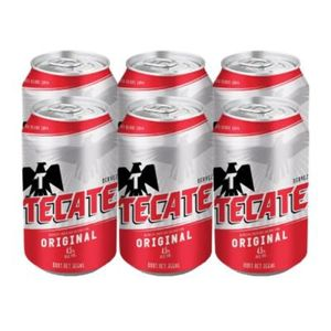 Cerveza Lata  Regular   Tecate  6.0 - Pack