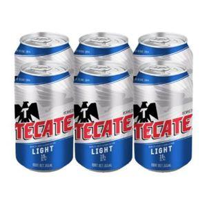 Cerveza Lata  Light  Tecate  6.0 - Pack