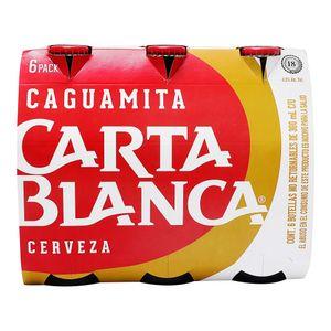 Cerveza  Botella Caguamita   Carta Blanca  6.0 - Pack