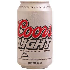 Cerveza Lata  Light  Coors  6.0 - Pack
