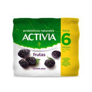 Yoghurt Bebible  Ciruela Pasa  Activia  6.0 - Pack