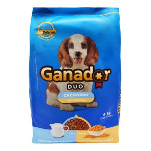 Comida Perro  Cachorro Duo  Ganador  4.0 - Kg