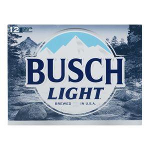 Cerveza Lata      Busch Light   12.0 - Pack