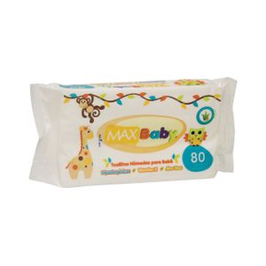 Toallitas   Humedas  Max Baby  80.0 - Pza