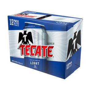 Cerveza Lata  Light  Tecate  12.0 - Pack