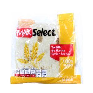 Tortilla  Harina  Max Select  10.0 - Pza