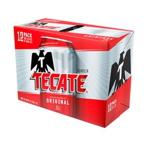 Cerveza Lata  Regular  Tecate  12.0 - Pack