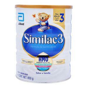 Formula Infantil   Con Hierro Et3  Similac 3  850.0 - Gr