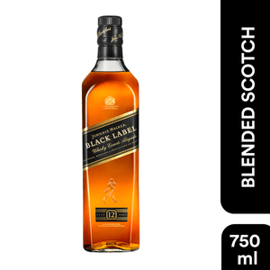Whisky  Etiq.Negra  Johnnie Walker  750.0 - Ml