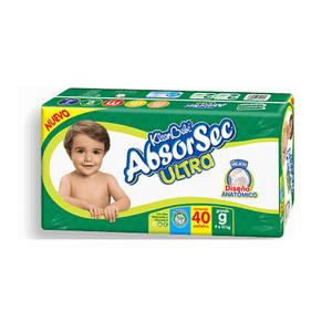PaÑAl P/Bebe  Absorsec Gde  Kleen Bebe  40.0 - Pza