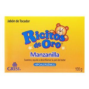 Jabon P/Bebe  Manzanilla  Ricitos De Oro  100.0 - Gr