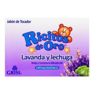 Jabon  Lavanda Y Lechuga  Ricitos De Oro  90.0 - Gr