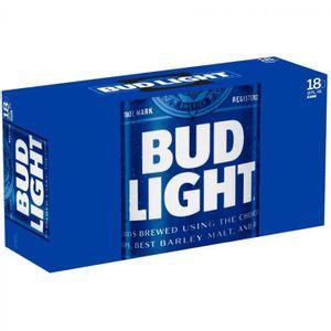 Cerveza  Bote  Bud Light  18.0 - Pack
