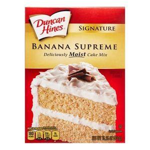Harina Para Pastel  Signature Banana  Duncan Hines  15.25 -