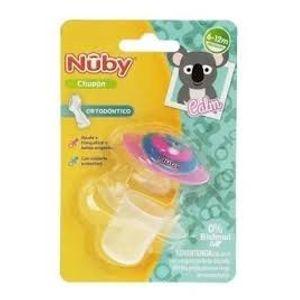 Chupon Ortodontico  6-12 Meses  Nuby  1.0 - Pza