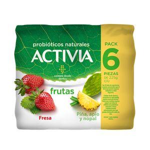 Yoghurt  PiÑA/Fresa  Activia  6.0 - Pack