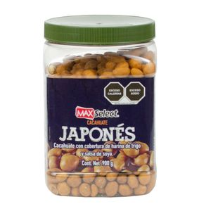 Vitrolero  Cacahuate Japones  Max Select  900.0 - Gr