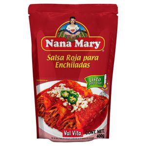 Salsa  Enchiladas Rojas  Nana Mary  400.0 - Gr