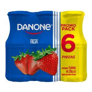 Yoghurt Bebible  Fresa  Danone  6.0 - Pack