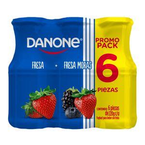 Yoghurt  Fresa Moras  Danone  6.0 - Pack